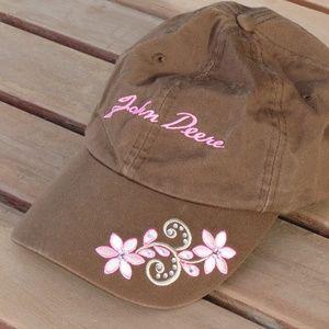 John Deere Embroidered Baseball Hat
